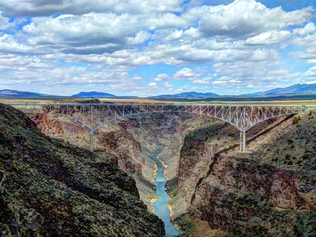 Rio Grande Gorge Bridge. Photo credit Nina Anthony