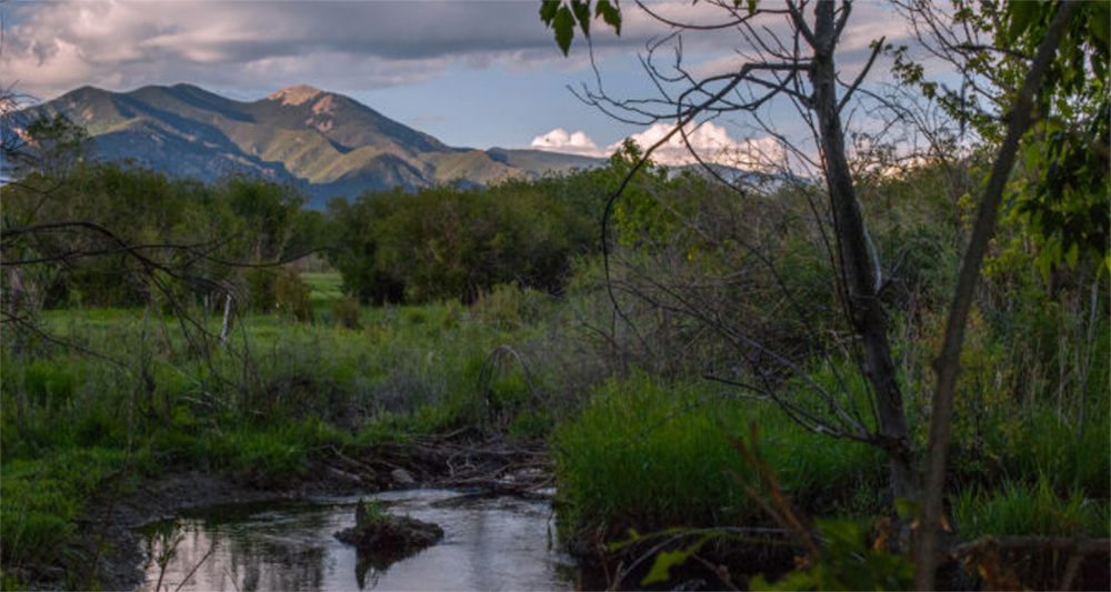 Rio Fernando de Taos, Photo by Jim O'Donnell